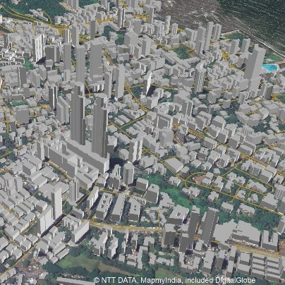 NTT DATA and MapmyIndia to develop first 3D map datasets for