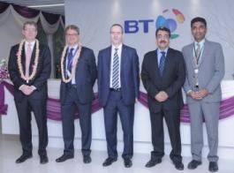 British Telecommunications opens global development centre